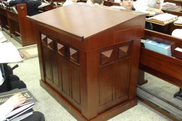 Marvelous Synagogue Furniture | Gabriel Wood | Synagogue Furnishings